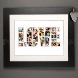 Slike u Love natpisu poklon na kanvasu