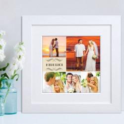 Venčanje poklon foto kolaz od 5 slika