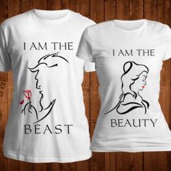 Lepotica i zver poklon majice i duksevi