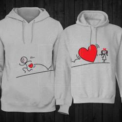 Moja ljubav te prati poklon majice i duksevi