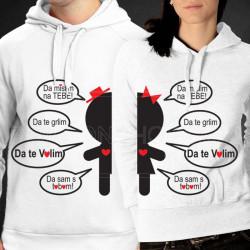 Jedinstven spoj poklon majice i duksevi