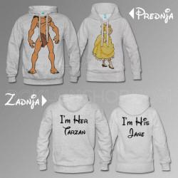 Tarzan i Jane poklon majice i duksevi