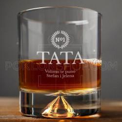 Za tatu poklon čaša za viski