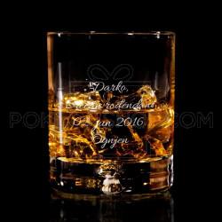 Njegov rođendan poklon čaša za viski
