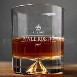 Kum poklon čaša za viski
