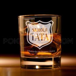 Tati s' ljubavlju poklon čaša za viski