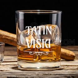 Tatin viski poklon čaša za viski