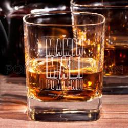 Mamin mali pomoćnik poklon čaša za viski