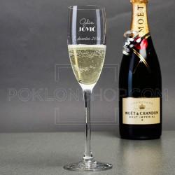 Gospodin poklon čaša za šampanjac