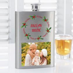 Srećan Božić poklon pljoska
