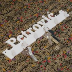 Imena i prezimena nosac za ključeve