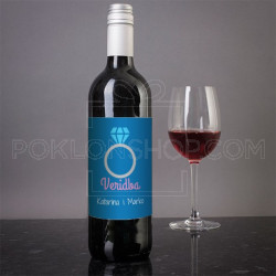 Veridba poklon vino