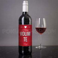 Ja te volim poklon vino