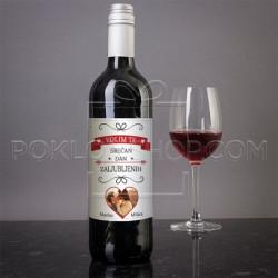 Poklon vino za Dan zaljubljenih