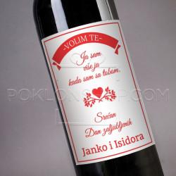 Sa tobom sam vise poklon vino