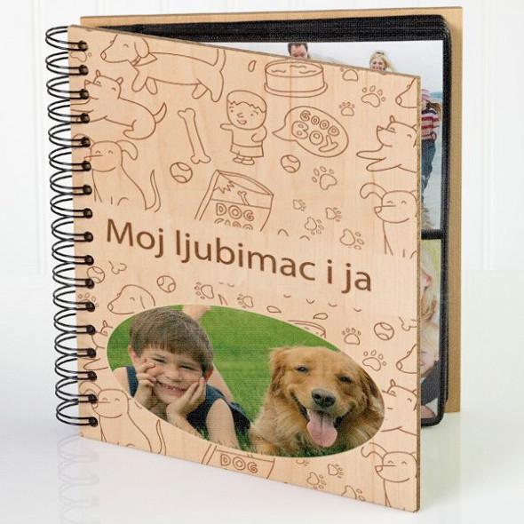 Moj ljubimac i ja poklon album za slike