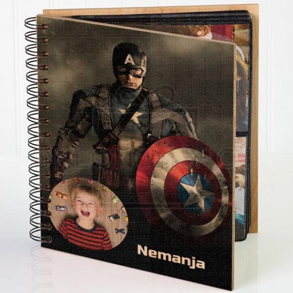 Kapetan Amerika poklon album za slike
