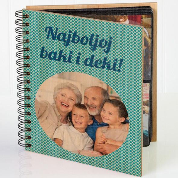 Najboljoj baki i deki poklon album za slike