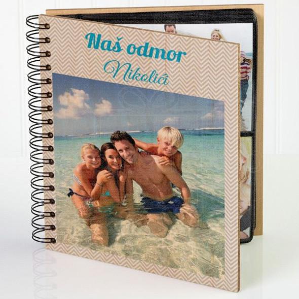 Naš odmor poklon album za slike