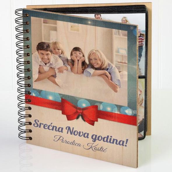 Srećna Nova godina poklon album za slike