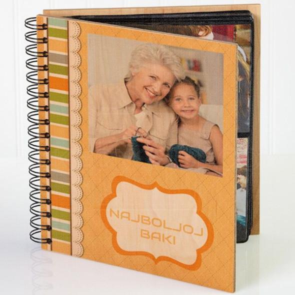 Za baku poklon album za slike