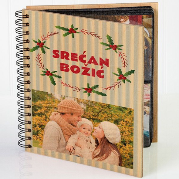U Božićnom ruhu poklon album za slike