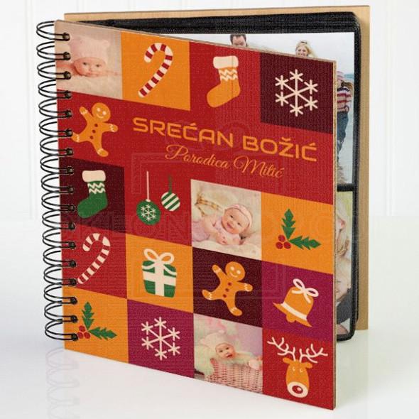 Božić poklon album za slike