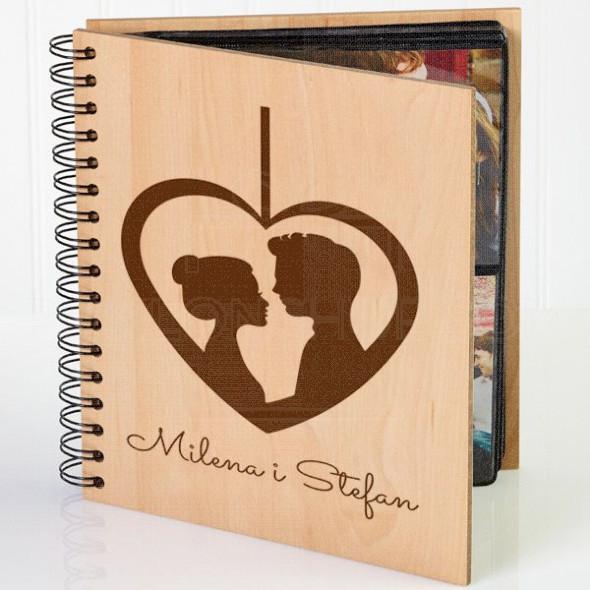 Ljubavna priča poklon album za slike