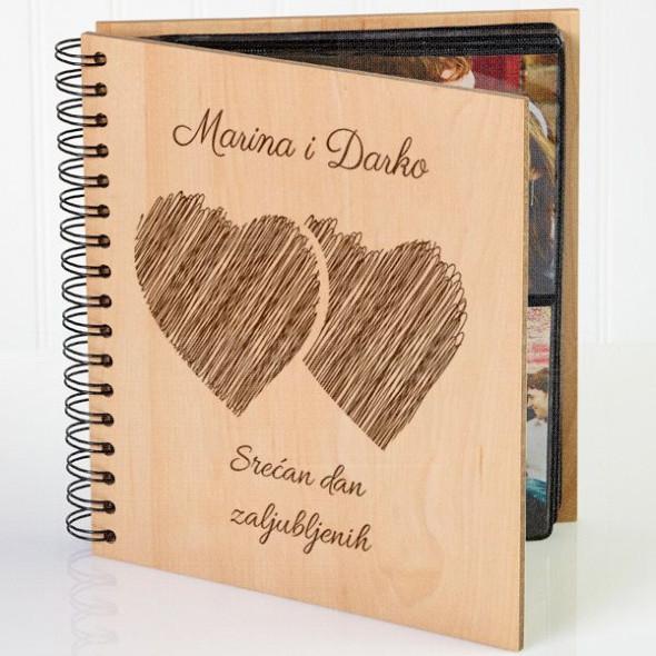 Naša srca poklon album za slike