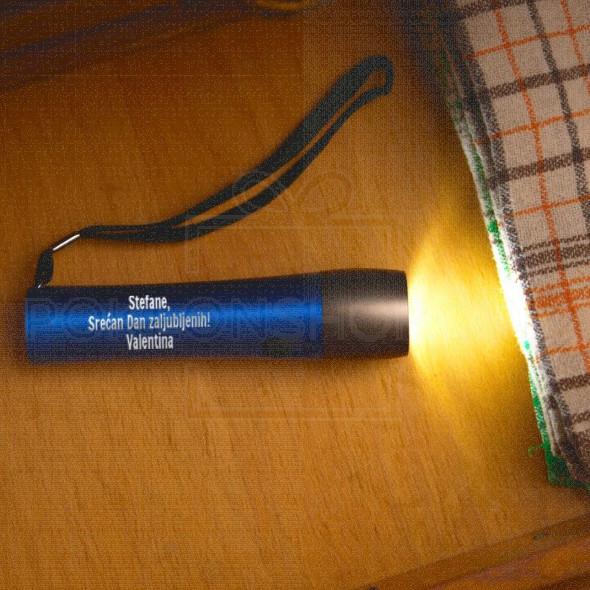 Srećan dan zaljubljenih poklon baterijska lampa
