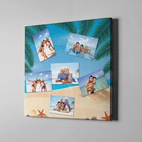 Naš odmor poklon kolaž od 6 fotografija