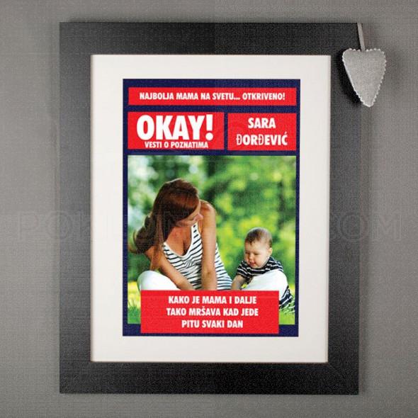 Vesti o poznatima poklon poster