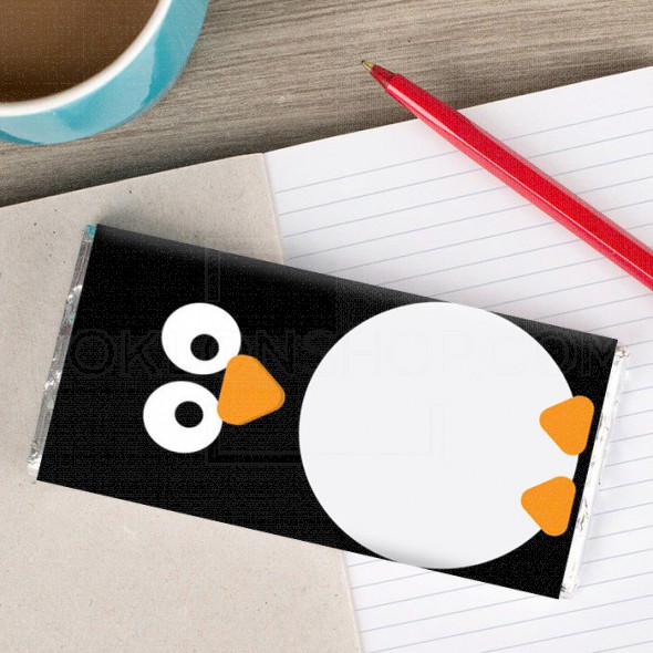 Pingvin poklon čokolada