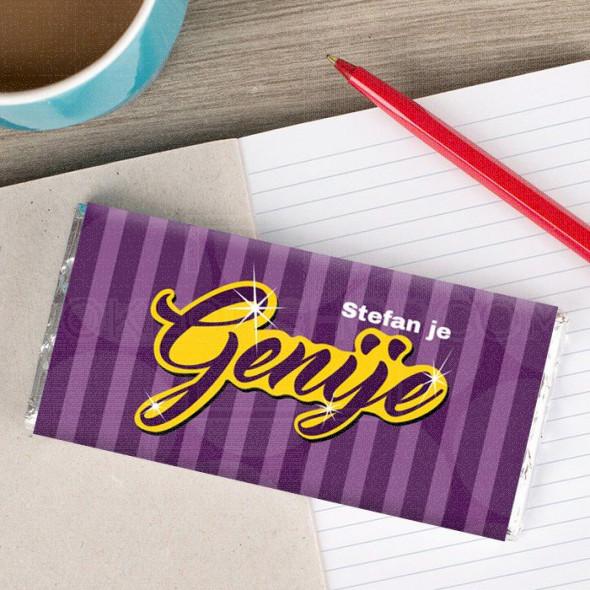 Genije poklon čokolada