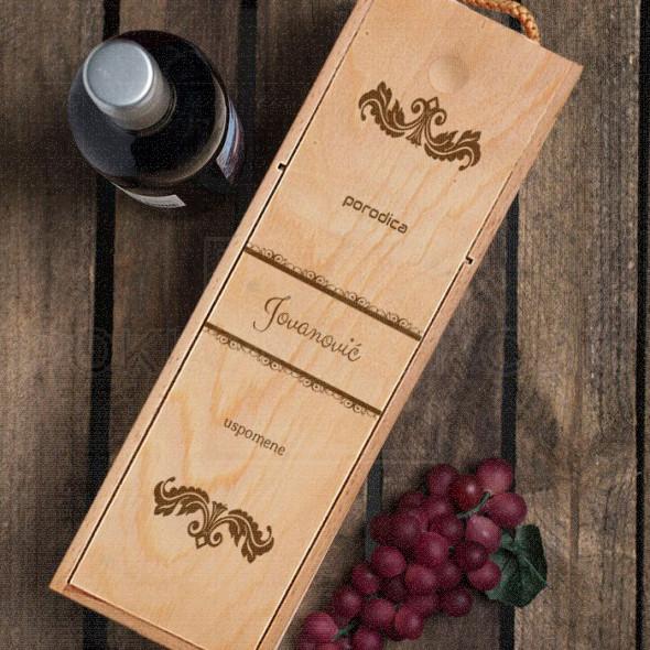 Porodična poklon kutija za vino