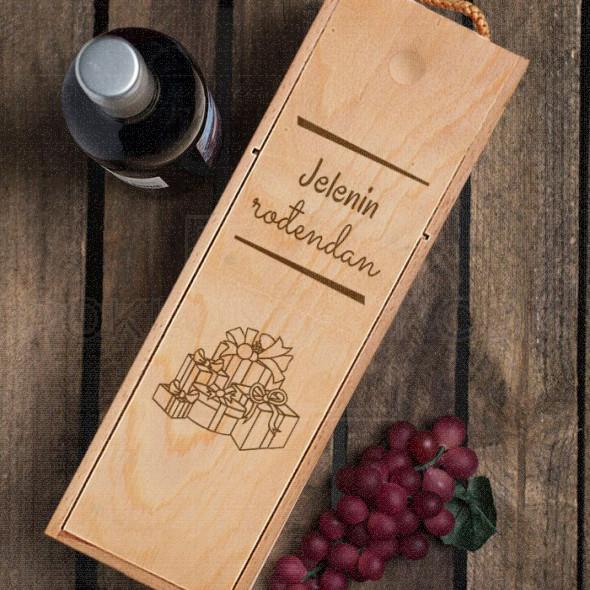 Za rodjendan poklon kutija za vino