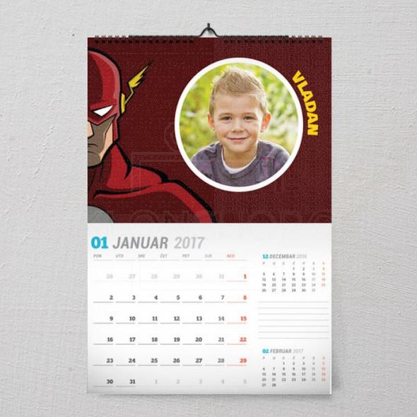 Moj Flash poklon kalendar za dečaka