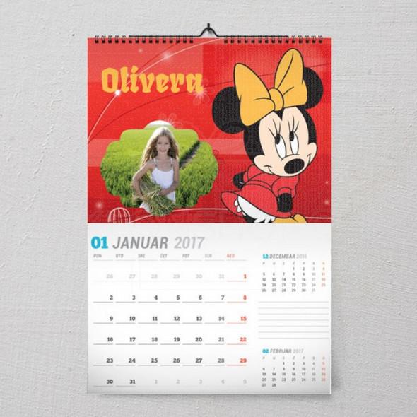 Mini poklon kalendar za devojčice