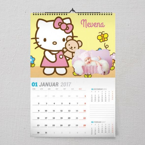 Hello Kitty poklon kalendar za devojčice