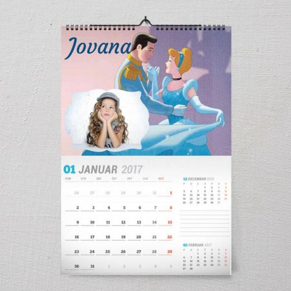 Ponoćni ples poklon kalendar za devojčice