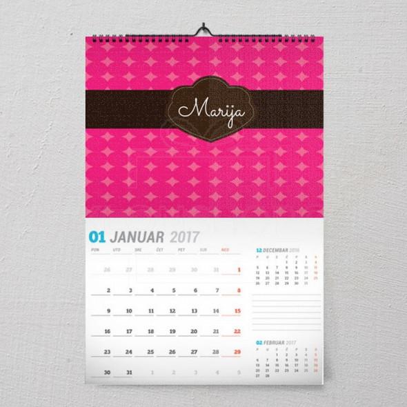 Poklon kalendar za devojke