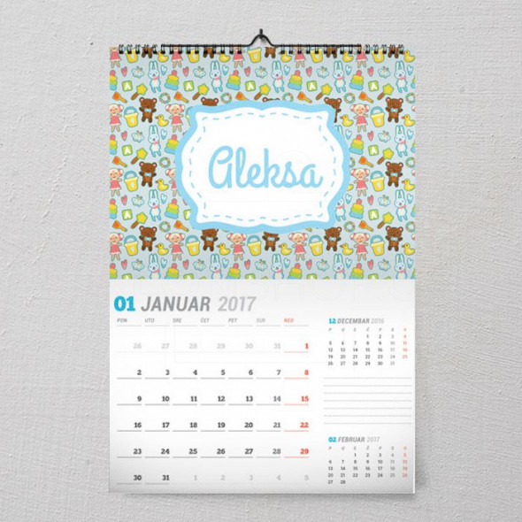 Mede poklon kalendar