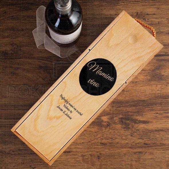 Mamino vino poklon kutija za vino