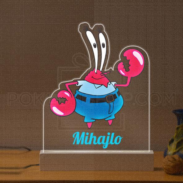 Keba Kraba poklon lampa
