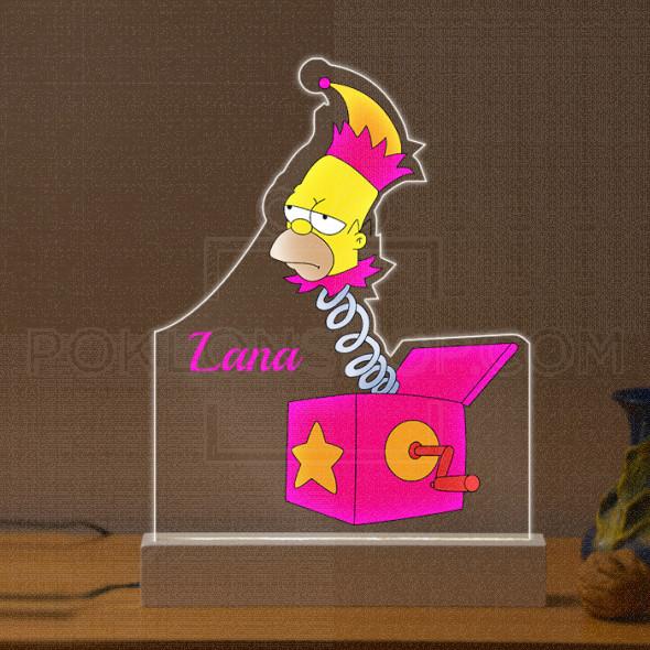 Homer poklon lampa