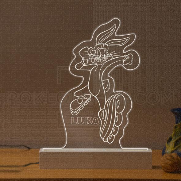 Duško Dugouško u trci poklon lampa