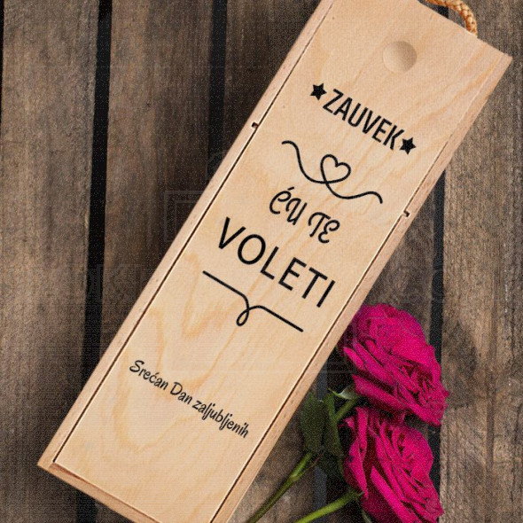 Zauvek ću te voleti poklon kutija