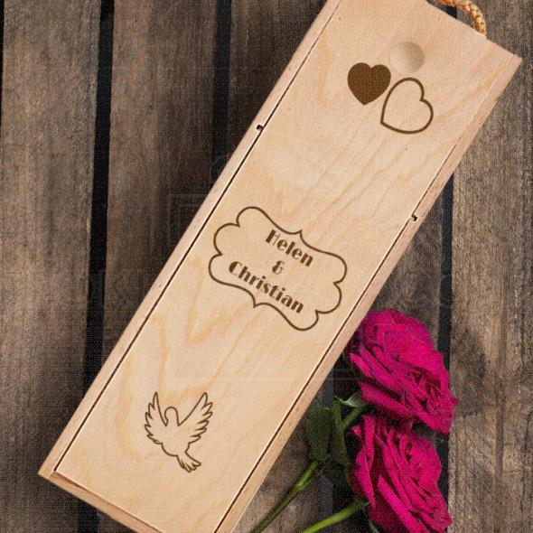 Imena za parove poklon kutija za vino