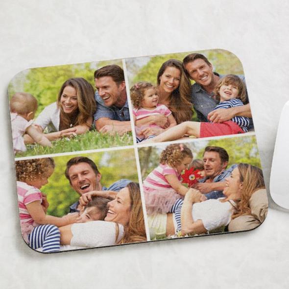 Porodični foto kolaž poklon podloga za miša
