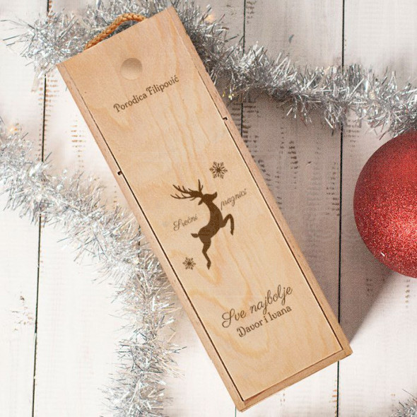 Sve najbolje od porodice poklon kutija za vino